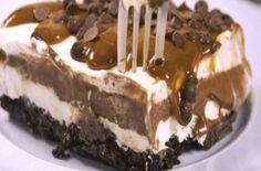 Το τέλειο σοκολατένιο γλυκό ψυγείου με όρεο - Γεύση & Συνταγές - Athens magazine Oreo Torta, Oreo Cake, Sweets Recipes, Candy Recipes, Summer Desserts, Easy Desserts, Food Network Recipes, Food Processor Recipes, Ice Cream Recipes