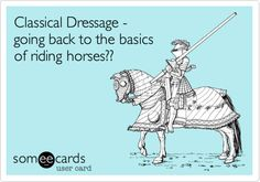 Classical Dressage - going back to the basics of riding horses??