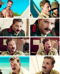 Jai Courtney and his creeper Stache!!!