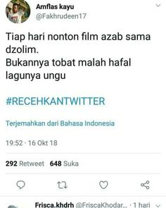 Quotes Funny Sarcastic, Jokes Quotes, Funny Tweets, Memes Humor, Funny Jokes, Quotes Lucu, Drama Memes, Real Life Quotes, Quotes Indonesia
