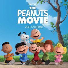 #Peanuts Movie 2016 Wall Calendar -