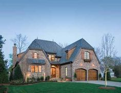 French country home.