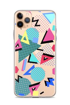 Excited to share this item from my shop: iPhone 11 Case Retro Vintage Memphis Cover For iPhone 6 7 8 Plus X 10 XR XS Max Galaxy Lite Clear With Design Iphone 11 Pro Case, Iphone 8 Cases, Iphone 6, Wildflower Phone Cases, Memphis Art, Latest Iphone, Waterproof Stickers, Mobile Cases, Cute Phone Cases