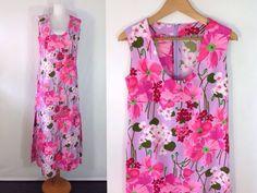 70s Flower Power Dress Floral Maxi #sixcatsfunVINTAGE #flowerpower #maxidress #floralmaxi #etsy #vintage #70svintage #70s #handmade #festivaldreess #hippiedress