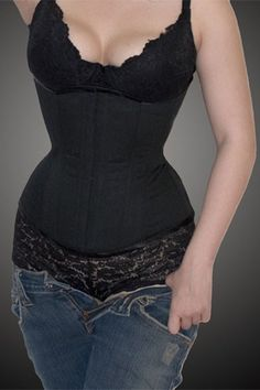 Meschantes Ready to Wear Black Training Corset for Daily Wear - Your Size - Great for the Holidays. $139.00, via Etsy.