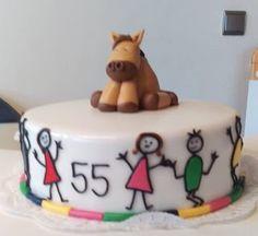 Sabines Torten: Kinder und Pferd Torte