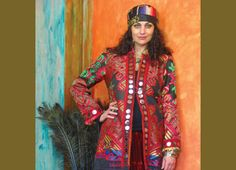 """Suzi Click  An Eclectic Cross-Cultural Style  """"As an artist I have always been influenced by tribal cultures—their costumes, their fabrics and especially their use of embellishment and ability to mix different elements together."""