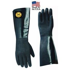 Gloves Insulated Heat Resistant Cooking Bbq Pair Grilling Oven 17 Inch Length XL #HomeIdeas