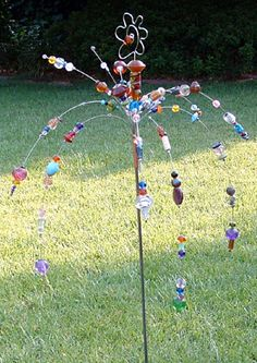 the bead tree | wind chimes | pinterest | beads