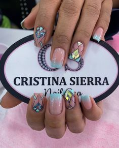 Neon Nails, Love Nails, Pretty Nails, Luxury Nails, Diamond Nails, Nail Spa, Makeup Organization, Summer Nails, Manicure