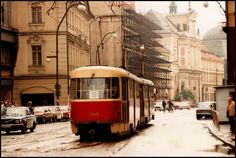 New town | Prague 1987 Reds Bbq, The Good German, Before The Fall, Small Fireplace, Summer Barbecue, Back Art, National Theatre, Berlin Wall, European Countries