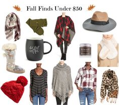 Wednesday Wish List- Fall Finds Under $50
