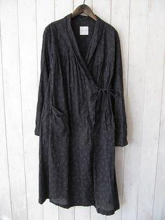 inspiration - wrap tunic dress with pockets