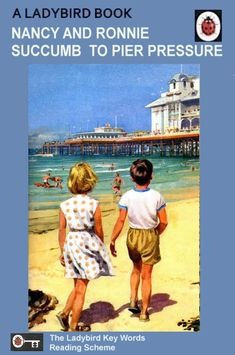 Book And Magazine, Magazine Art, It's Funny, Hilarious, Arnold Bodybuilding, Childhood Ruined, Beach Humor, Ladybird Books, Book Names