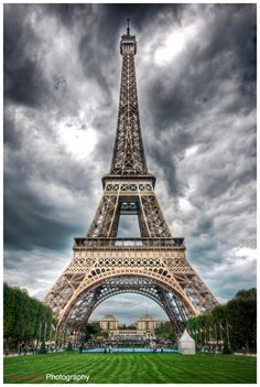 Paris – Eiffel Tower. one of the most beautiful cities on earth