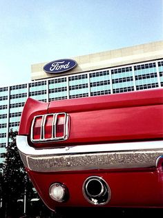 In The Beginning....... FORD MUSTANG 1964 1/2