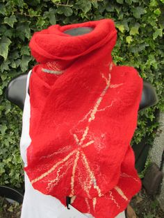 Merino wool scarf by Linda Thomson