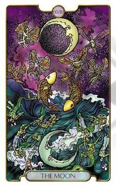 *NEXT DECK* The Moon from Zack Wong's Revelations Tarot Deck