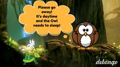 The Owl And The Grasshopper   Bedtime Story For Kids