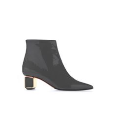 Baldinini Woman Collection: Ankle boots in grey patent leather Online Shopping Shoes, Luxury Shoes, Italian Style, Patent Leather, Ankle Boots, Booty, Woman, Grey, Bags