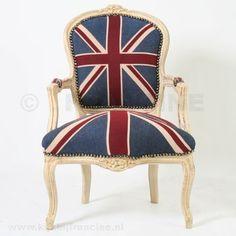 children's union jack chair...