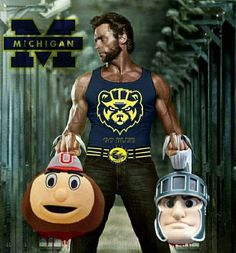 GO BLUE!                                                                                                                                                                                 More