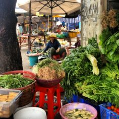 Market in Ho Chi Minh City, Vietnam  Expat Diary: Viet Nam   Collage of Life by Jeanne Henriques