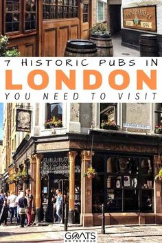 Planning a trip to London? You will want to check out these historic london pubs while you are there. From the spaniards inn, to the ten bells, and more, these are the places to eat and drink while you are in London town. Europe Travel Tips, Travel Guides, Budget Travel, Mall Of America, North America, Amazing Destinations, Travel Destinations, London Travel, Travel Portland