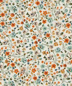 Liberty Art Fabrics Kimberly Sarah D Tana Lawn Cotton Boho Pattern, Pattern Floral, Motif Floral, Pattern Art, Floral Prints, Lino Prints, Ditsy Floral, Block Prints, Floral Fabric