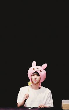 Jin so cute