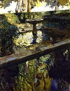 Joaquin Sorolla Y Bastida 1863 1923 The Garden Of The