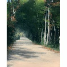 The trees now begin to shade the streets. When the sun gets high in the sky the trees give shade. With oppressive heats come refreshing shadows. (1851) http://www.outriderbooks.com/oop/Thoreau528.html