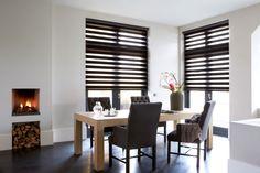 duo rolgordijn van bece® voor in de keuken #duorolgordijn #keuken #duorollerblind #raamdecoratie #bece #zonwering #interieur #zon