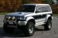 Mitsubishi Shogun, Mitsubishi Pajero, Mitsubishi Cars, Montero 4x4, Montero Sport, Tundra Off Road, Off Road Wagon, Pajero Off Road, Suv 4x4