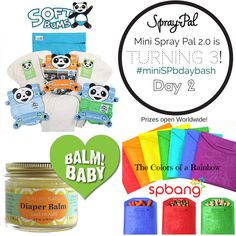 Day of 2 spray pal giveaway Baby Giveaways, Baby 2014, Getting Ready For Baby, Natural Parenting, Holiday Wishes, Rainbow Baby, Art Wall Kids, Cool Baby Stuff, Cloth Diapers