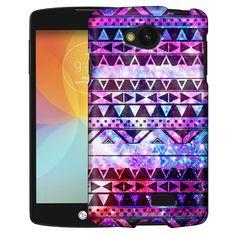 LG Optimus F60 Aztec Nebula Galaxy Black Slim Case