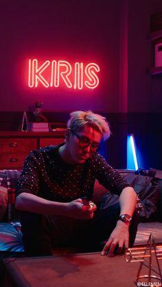Kris Wu ♥ first Kris Wu, K Pop, Chanyeol, Rihanna, Beyonce, Rapper, 5 Years With Exo, Kreative Portraits, Wu Yi Fan