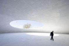 Museo de Arte de Teshima de  Ryue Nishizawa en Japón