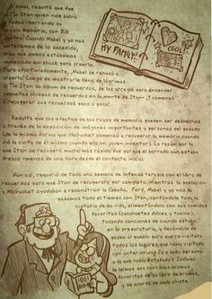 Read 118 from the story Diario 3 Gravity Falls by (Ale) with 278 reads. Libro Gravity Falls, Dipper, Bullet Journal, Netflix, Cartoons, Ford, Wattpad, Gravity Falls Journal, Gravity Falls