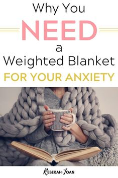 If you have anxiety and it keeps you up at night, you're not alone. I couldn't get rid of my nighttime anxiety until I got a weighted blanket to help me fall asleep. Weighted Blanket For Anxiety, Help Me Fall Asleep, Gravity Blanket, Get Rid Of Anxiety, Mental Health Recovery, Diy Blanket Ladder, I Quit My Job