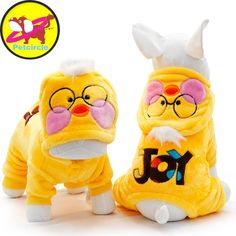 Genuine Petcircle Pet Dog Clothes Winter Yellow Duck  Dog Coats Hoodies For Small Large Clothes Dog Costumes Clothing For Dogs