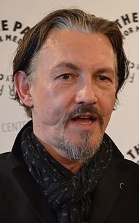 Glasgow smile - Actor Tommy Flanagan was given a Glasgow smile when he was attacked outside a bar in Scotland.