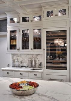Home Interior Design .Home Interior Design Kitchen Pantry, New Kitchen, Kitchen Dining, Kitchen Decor, Kitchen Cabinets, Glass Cabinets, Kitchen Ideas, White Cabinets, Open Cabinets