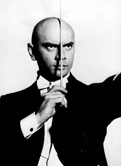"Yul Brynner in ""Once More, With Feeling!"" (1960). DIRECTOR: Stanley Donen. CAST:"