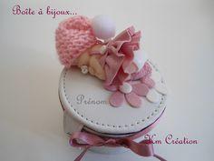 531ced6edd0b bebe fimo · Boîte à bijoux petite fille et son bonnet de laine (création en  fimo)