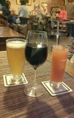 맥주&와인&망고에이드