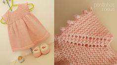 Ravelry: pontinhosmeus' Sweet baby dress (Rolly), free pattern