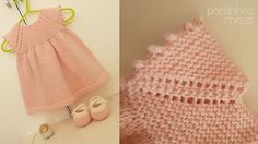 Ravelry: pontinhosmeus' Sweet baby dress (Rolly), free pattern. 6 months to 3 years