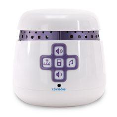Graco Sweet Slumber Sound Machine  White: http://www.amazon.com/Graco-Sweet-Slumber-Sound-Machine/dp/B001GQ2P78/?tag=akahuggins-20