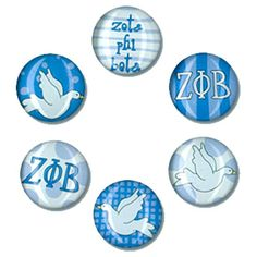 Zeta Phi Beta Magnets - Discontinued | SomethingGreek.com